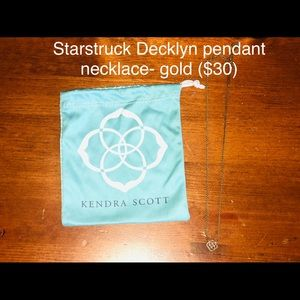 Kendra Scott Decklyn pendant necklace